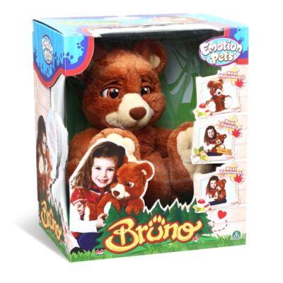 Bruno - Interaktív plüss mackó