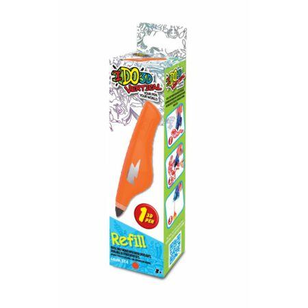 IDO3D Vertical rajzolóhoz utántöltő toll - narancs sárga N2