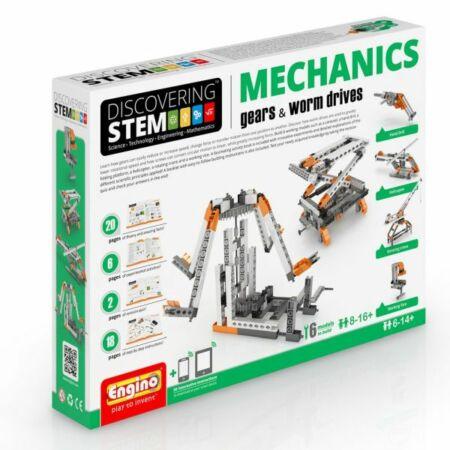 Engino Discovering Stem Mechanics építőjáték - Fogaskerekek (3.szint)