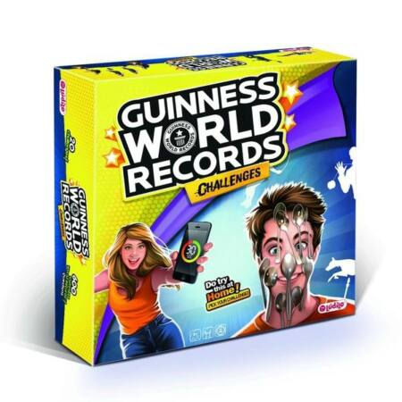 Guinness Világrekord Kihívás társasjáték