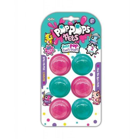 Pop Pops Pets S2, 6-os slime csomag 2 meglepetés állatkával
