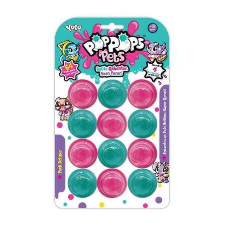 Pop Pops Pets S2, 12-es slime csomag 4 meglepetés állatkával