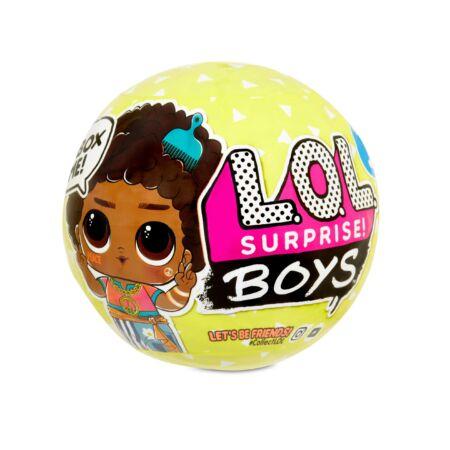 LOL Surprise Boys S3 - meglepetés fiú babák