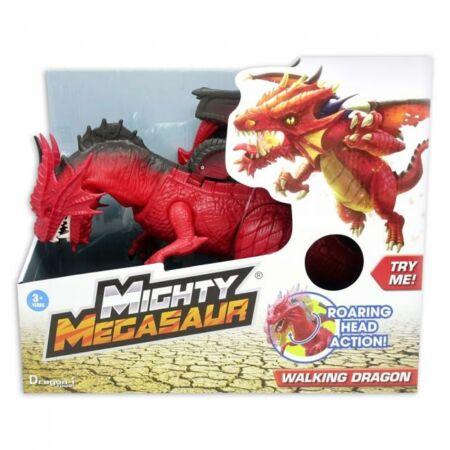 Dragon-i Hatalmas Megasaurus, lépdelő és üvöltő sárkány