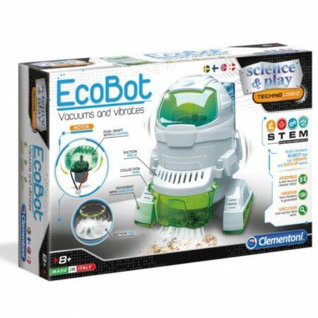 EcoBot - a porszívózó, rezgő robotfigura, Clementoni