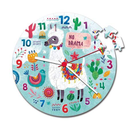 Puzzle óra- Llama 96 db-os puzzle - Clementoni