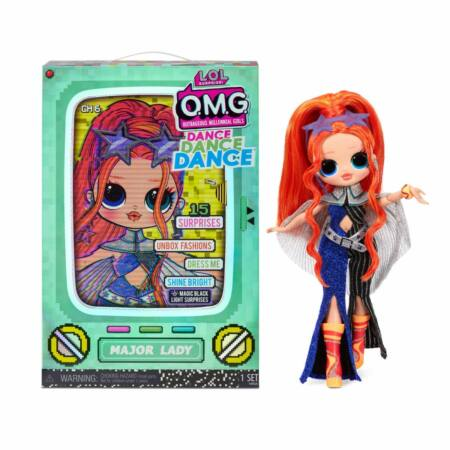 LOL Surprise OMG Dance Doll táncos babák - Major Lady