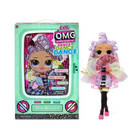 LOL Surprise OMG Dance Doll táncos babák - Miss Royale