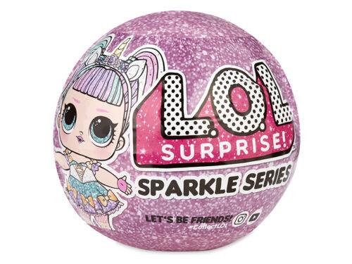 LOL Surprise Sparkle Series - a legcsillogóbb LOL babák
