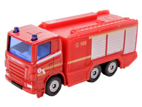 Siku Scania tűzoltóautó 1:87