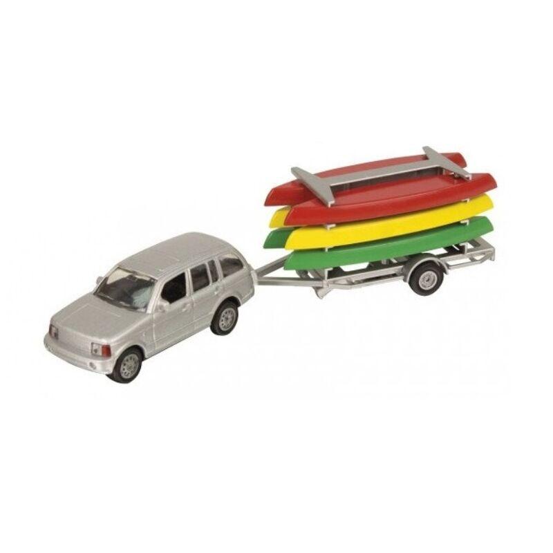 HTI Teamsterz 4x4 Jeep csónakkal