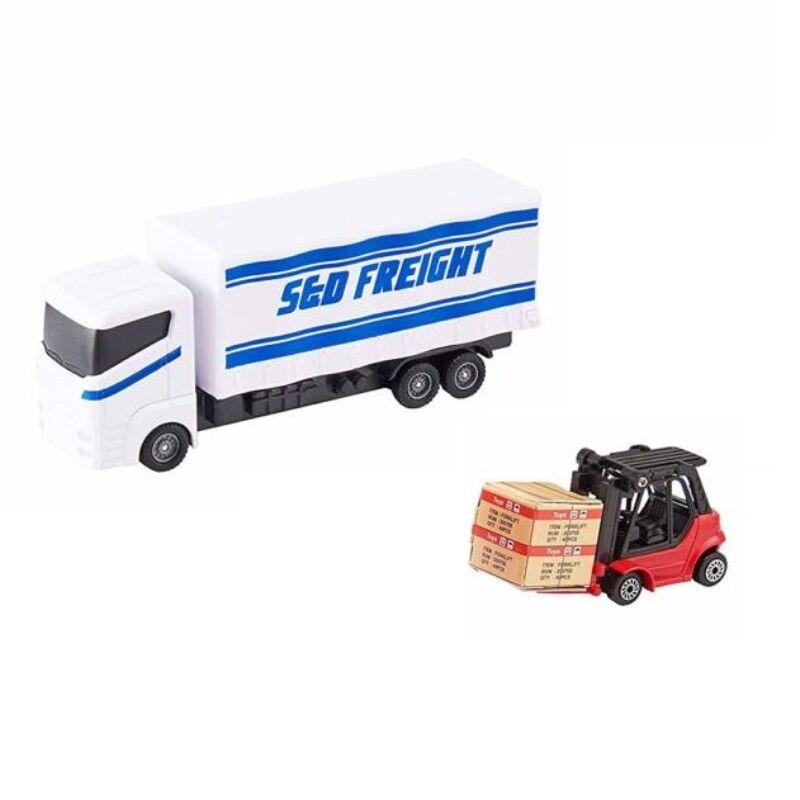 SnD Freight teherautó targoncával (Teamsterz Load 'n Go)
