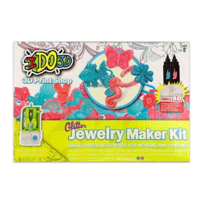 IDO3D - 3D Print Shop sablon 2 tintapatronnal - Glitter Jewerly Maker