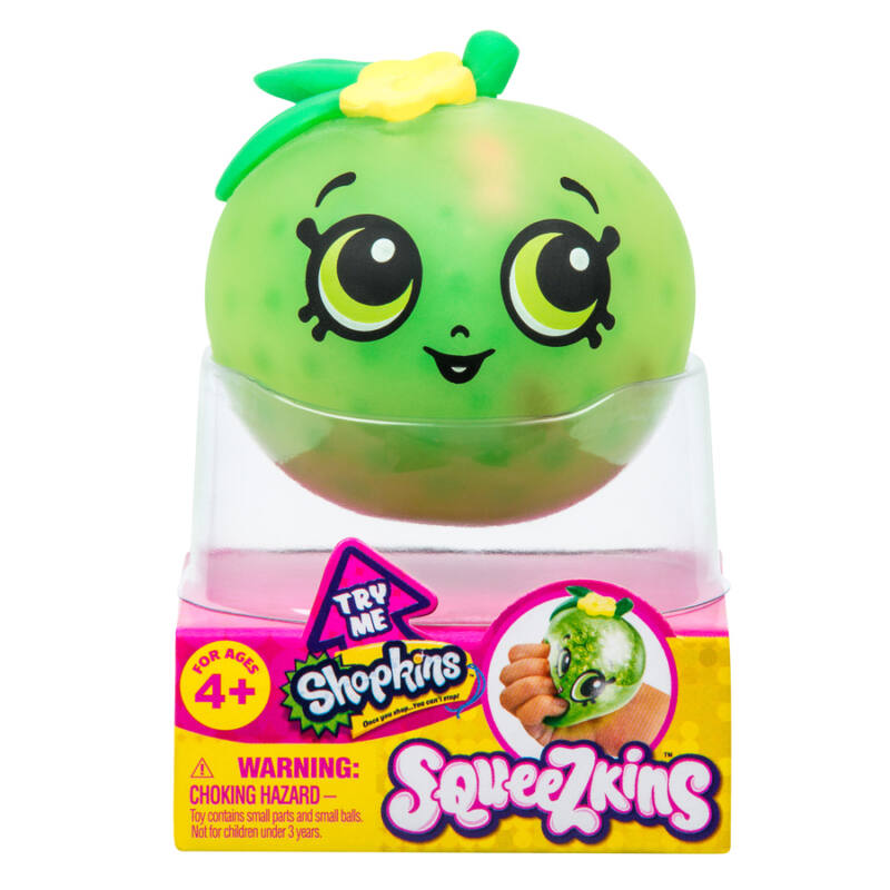 Shopkins Squeezkins slime - Apple Blossom