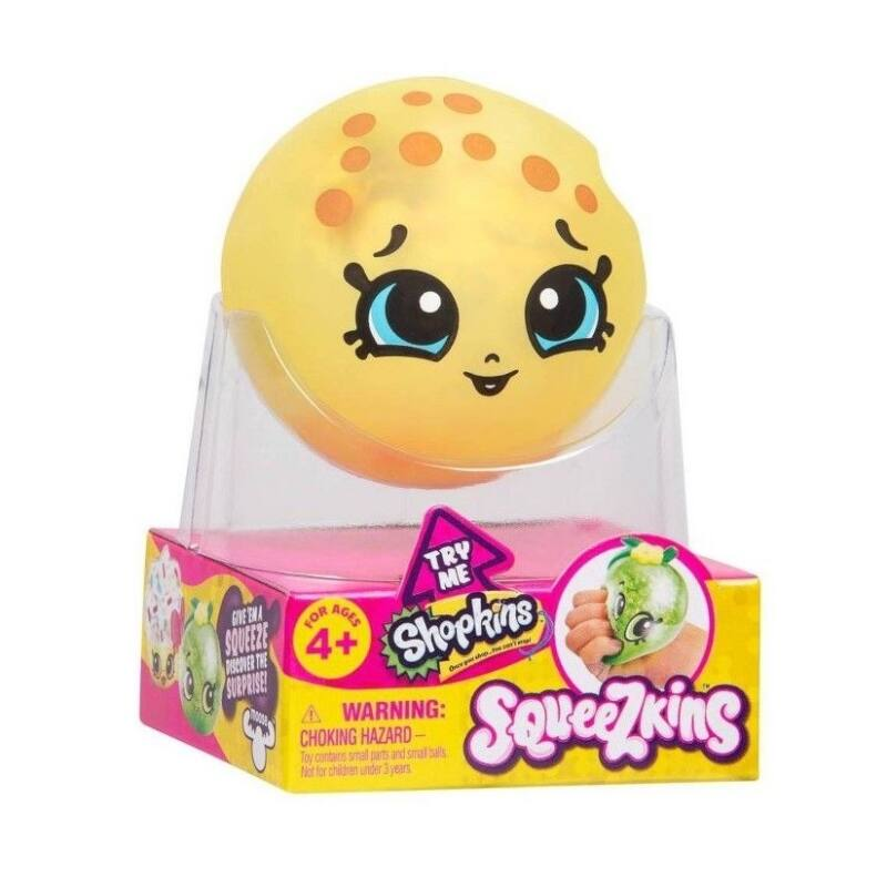 Shopkins Squeezkins slime - Kooky Cookie