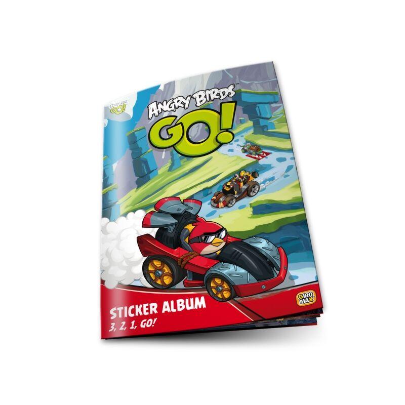 Angry Birds GO! Matrica gyűjtőalbum
