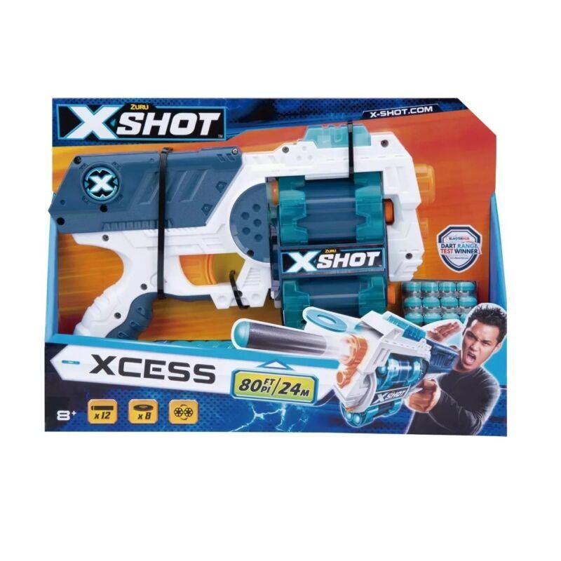 Xshot Excel Xcess - Forgótáras szivacslövő játékpisztoly