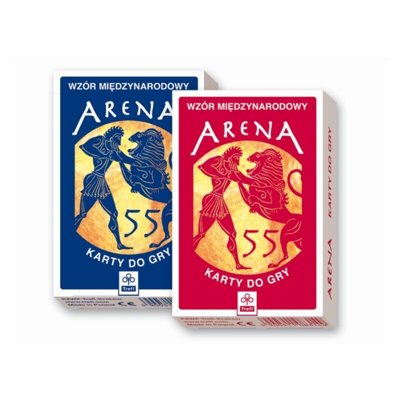 Arena 110 lapos franciakártya - Trefl