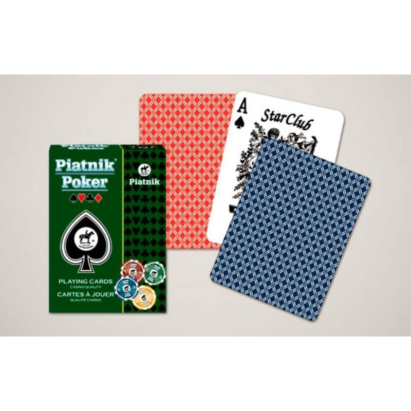 Poker Star Club kártya 1x55 lapos