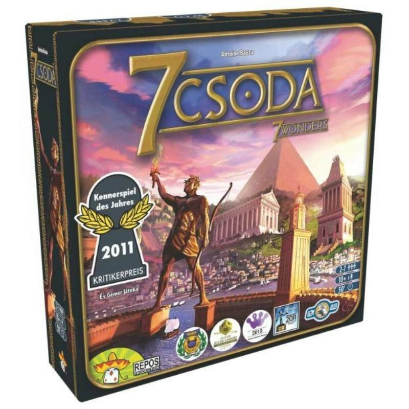 7 Csoda - 7 Wonders társasjáték