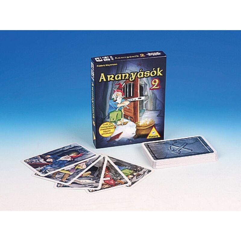 Aranyásók 2. Kiegészítő kártyajáték