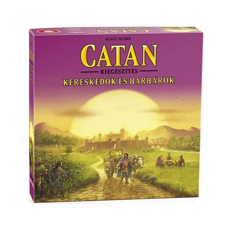 Catan társasjáték kiegészítő - Kereskedők és Barbárok