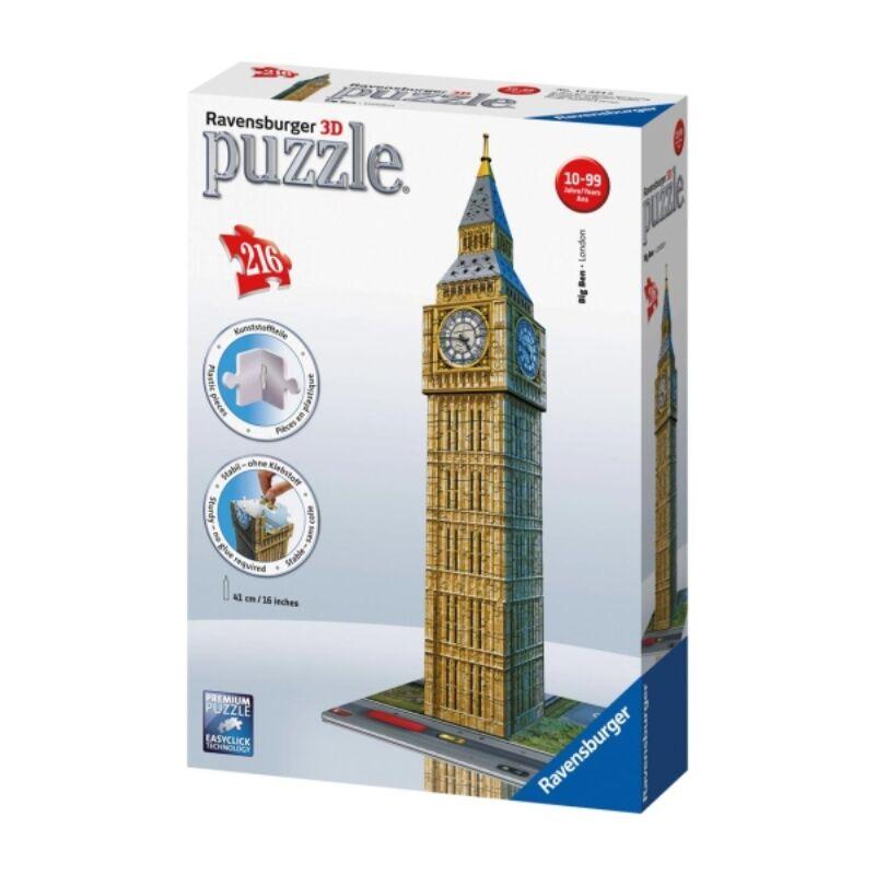 Ravensburger 3D puzzle - Big Ben, 216 db-os