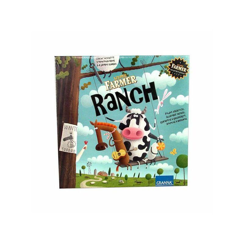 Granna - Ranch társasjáték (Szuper Farmer)