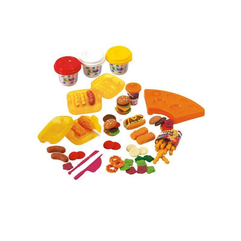 PlayGo Hamburgerkészítő gyurmaszett