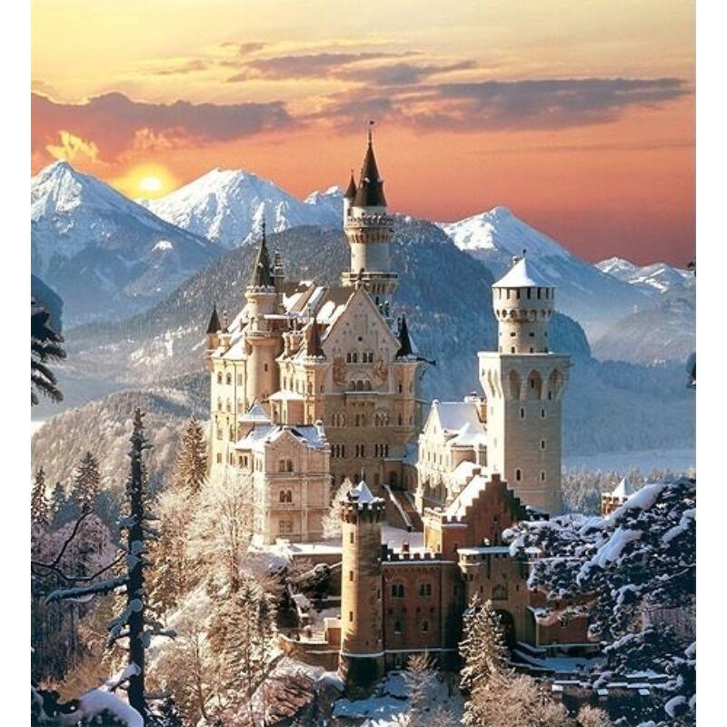 Neuschwanstein 1500 db-os puzzle - Clementoni