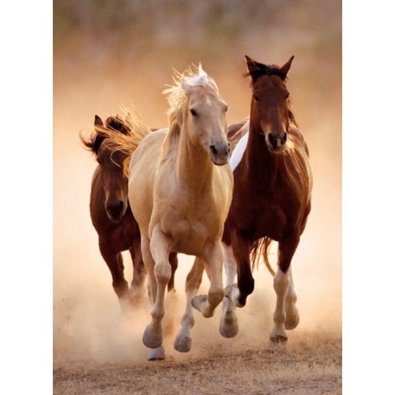 Vágtázó lovak 1000 db-os puzzle - Clementoni
