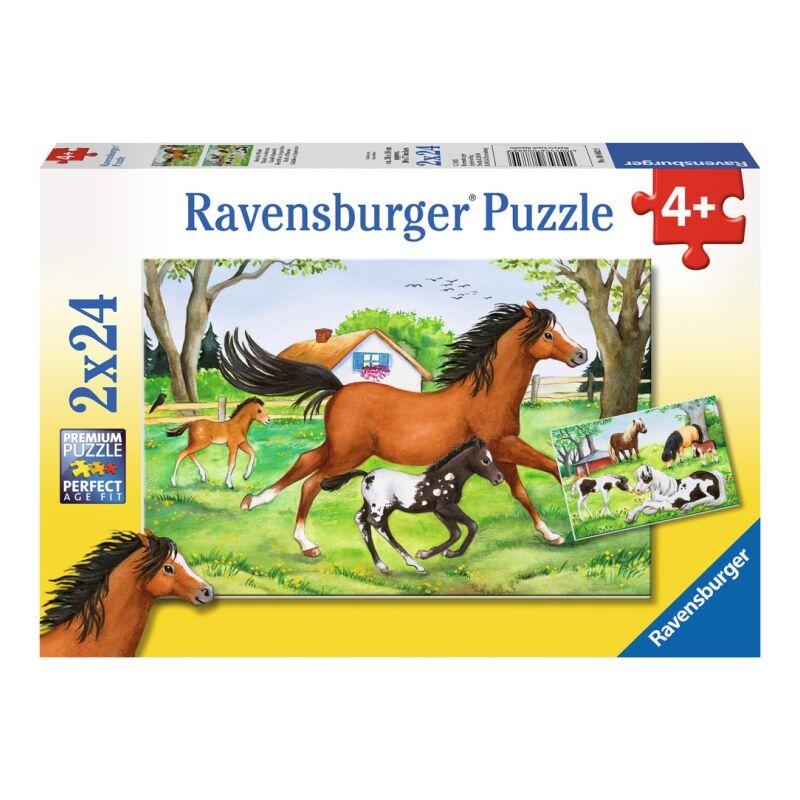 Ravensburger Puzzle 2x24 Lovak