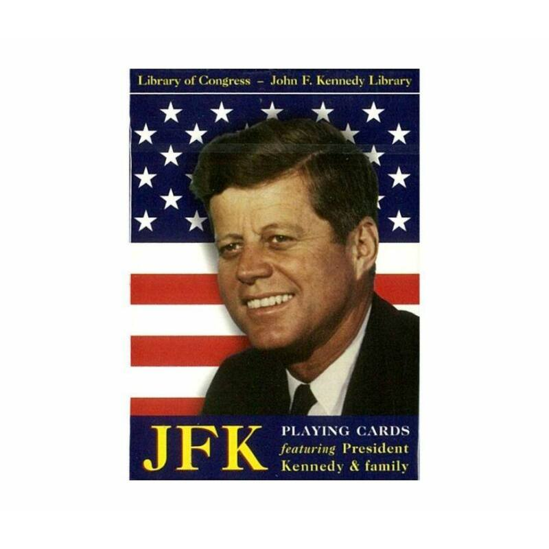 JFK-Kennedy 1x55 lapos römi kártya