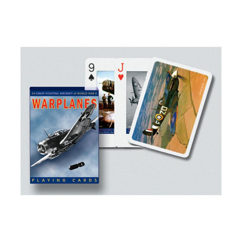 Harci repülők 1x55 lapos römi kártya