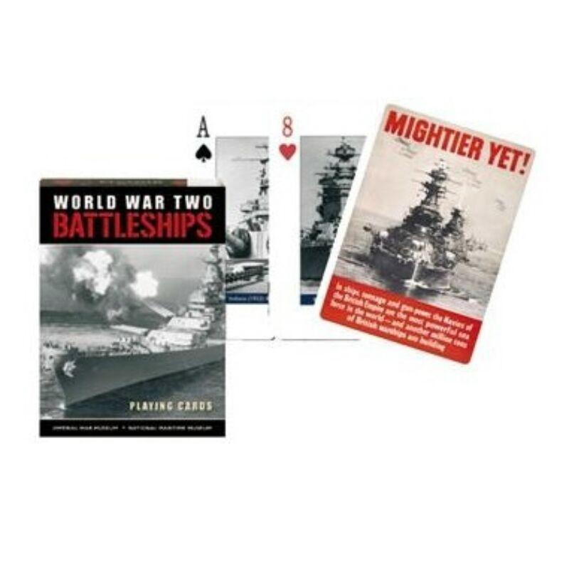 A Battleships - Hadihajók 1x55 lapos römi kártya