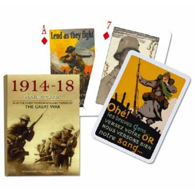 Az I. világháború 1914-1918 1x55 lapos römi kártya