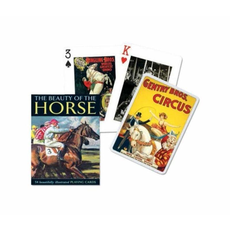 Csodálatos lovak 1x55 lapos römi kártya