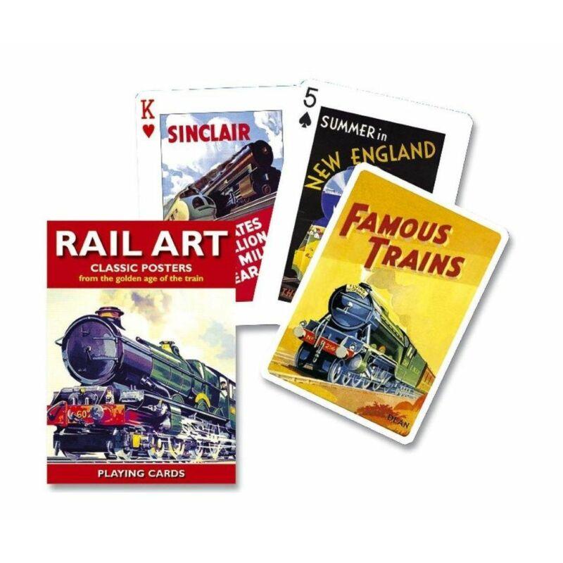 Rail Art 1x55 lapos römi kártya