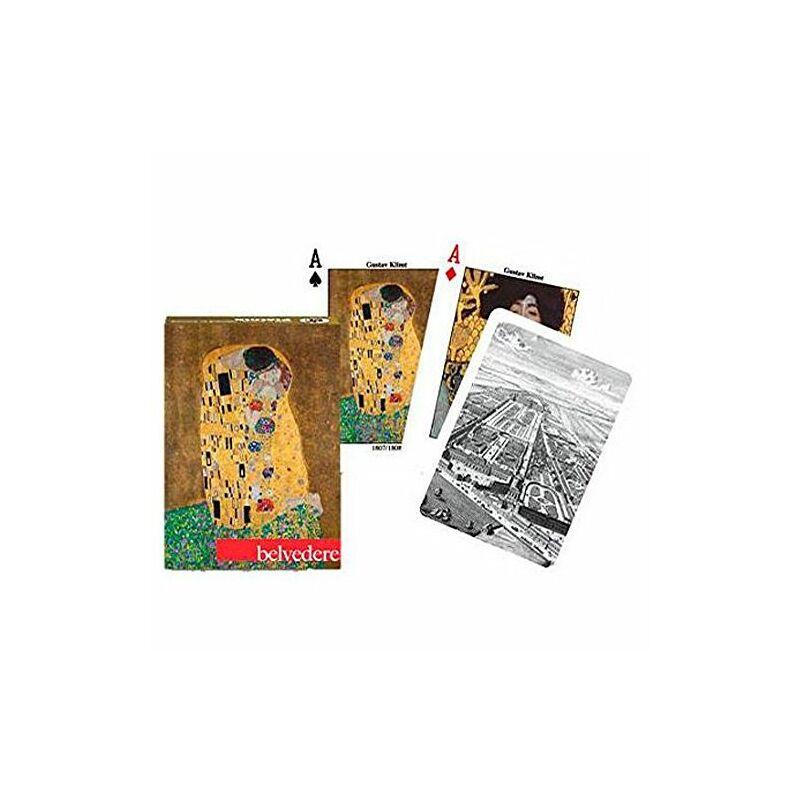 Klimt - Belvedere 1x55 lapos römi kártya