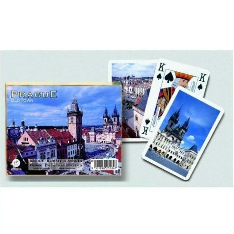 Prága-Belváros Luxus römi kártya 2x55 lap