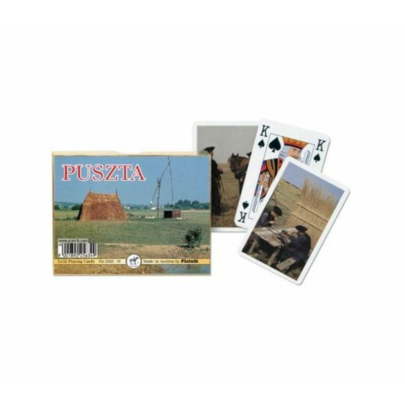 Puszta Souvenir römi kártya 2x55 lap - Piatnik