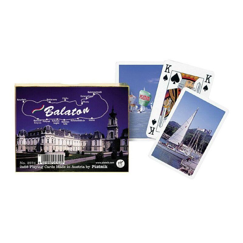 Luxus römi kártya - Balaton 2x55 lap