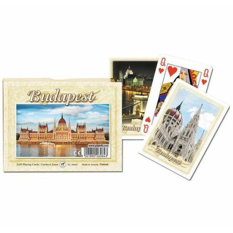 Budapest szuvenír römi kártya