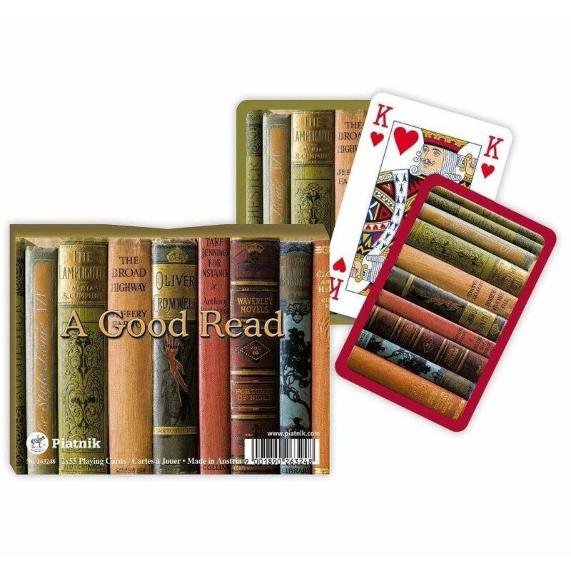 A Good read 2x55 lapos römi kártya