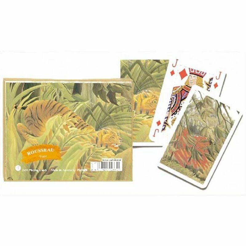 Rousseau - Tiger, Jungle römi kártya