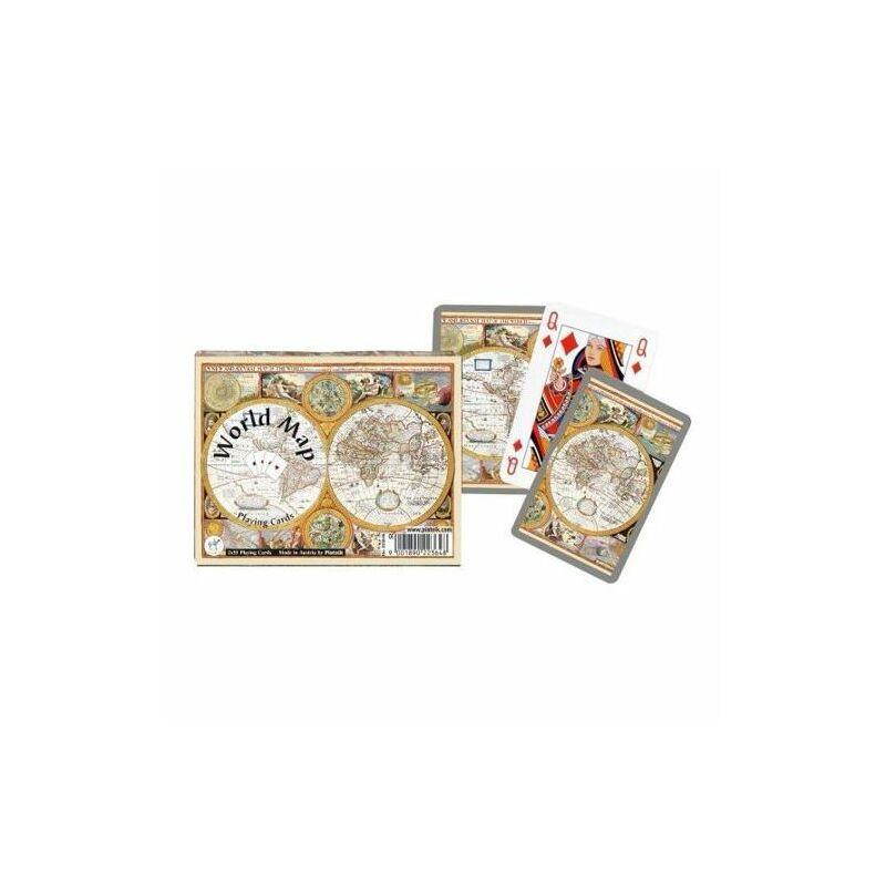 World Map römi kártya