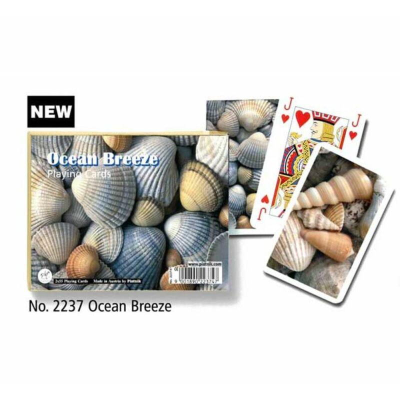 Ocean Breeze luxus römi kártya 2x55 lap - Piatnik