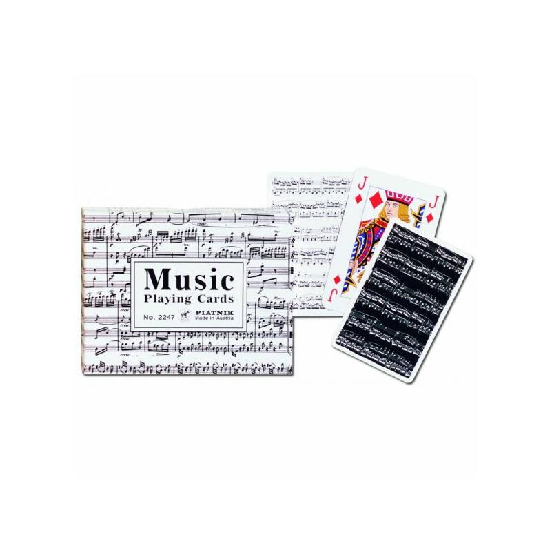 Music Luxus römi kártya 2x55 lap - Piatnik