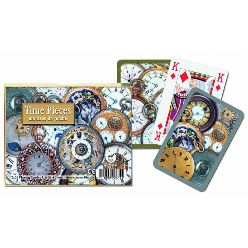 Luxus römi kártyajáték - Óraszerkezetek 2x55 lapos