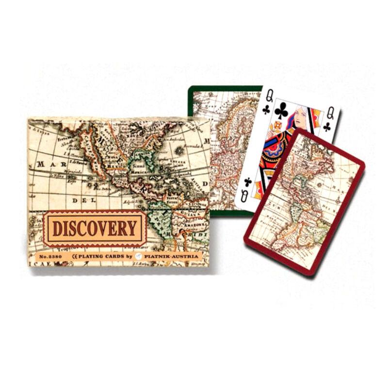 Művész römi kártya - Felfedezés 2x55 lap